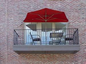 OFF-THE-WALL BRELLA® 9 ft Half Umbrella - Sunbrella - Pro-Techt's